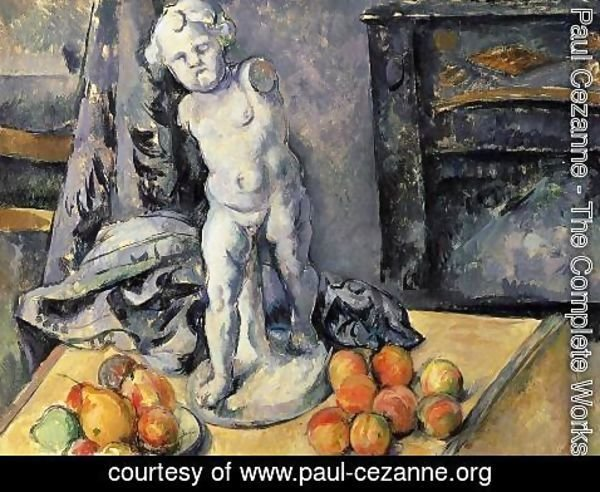 Paul Cezanne - Still Life with Plaster Cupid