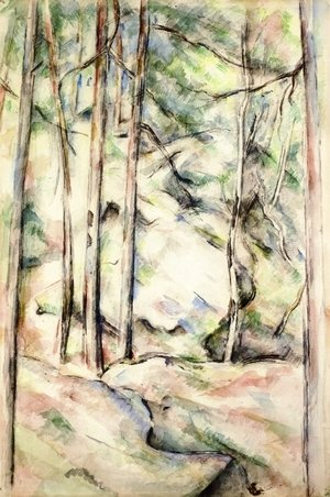 Paul Cezanne - In the Woods IV