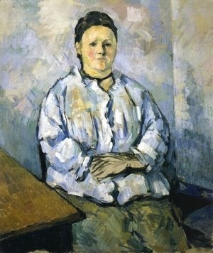 Paul Cezanne - Seated Woman II