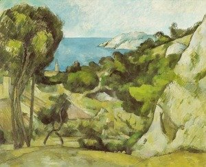 Paul Cezanne - L'Estaque