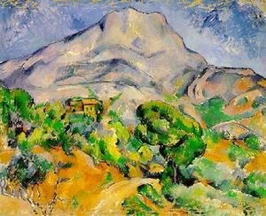 Paul Cezanne - Mont Sainte-Victoire above the Tholonet Road