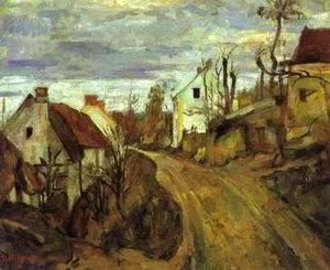 Village Road at Auvers