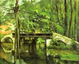 Paul Cezanne - Bridge of Maincy