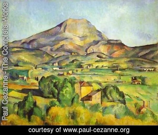 Paul Cezanne - Mount Sainte-Victoire