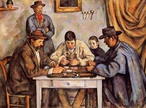 Paul Cezanne - Cardplayers 1