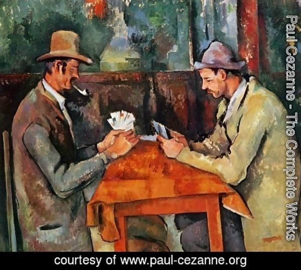 Paul Cezanne - Cardplayers 2