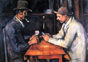 Paul Cezanne - Cardplayers 4