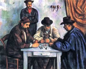 Paul Cezanne - Cardplayers 5