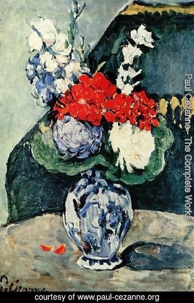 Paul Cezanne - Flowers