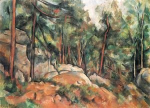 Paul Cezanne - In the forest