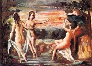 Paul Cezanne - Judgement of Paris