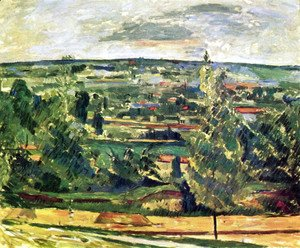 Paul Cezanne - Landscape at the Jas de Bouffan
