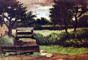 Paul Cezanne - Landscape with wells