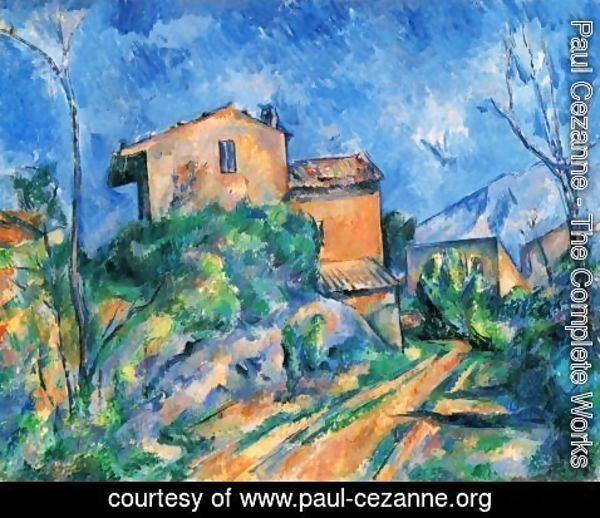 Paul Cezanne - Maison Maria at the way to the Château Noir