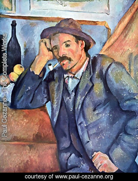 Paul Cezanne - Man with the whistle