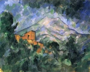 Paul Cezanne - Mont Sainte-Victoire and Chateau Noir