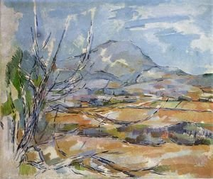 Paul Cezanne - Mountain Saint-Victoire