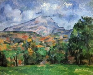 Paul Cezanne - Mountain Saint-Victoire 2