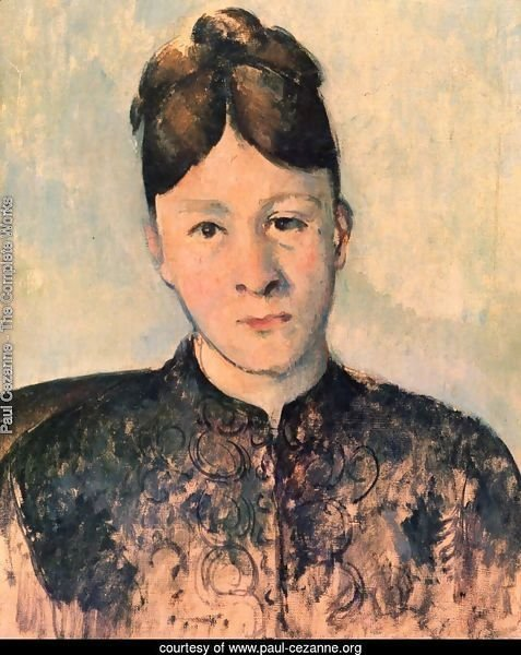 Portrait of Mme Cézanne