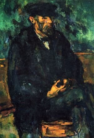 Paul Cezanne - Portrait of Vallier 2
