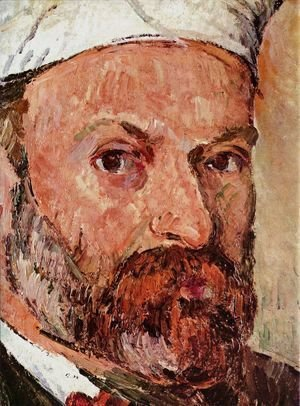 Paul Cezanne - Self-portrait 1877