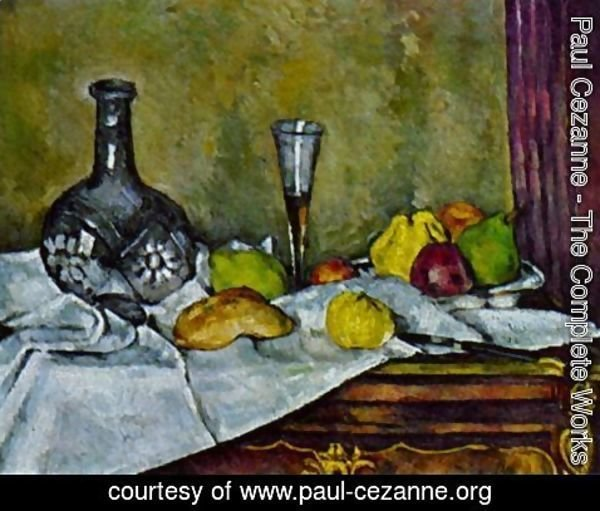 Paul Cezanne - The dessert