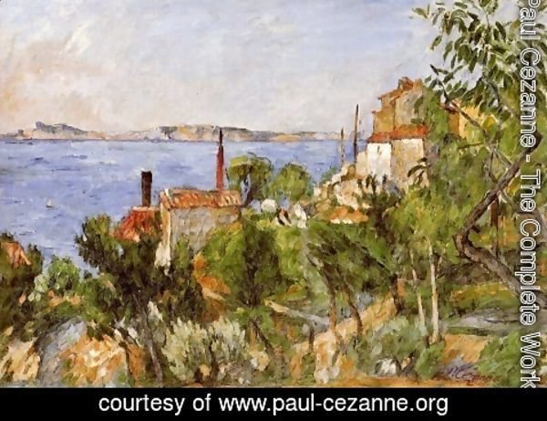 Paul Cezanne - The Seat at L'Estaque