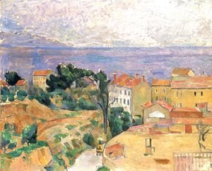 Paul Cezanne - View of L'Estaque