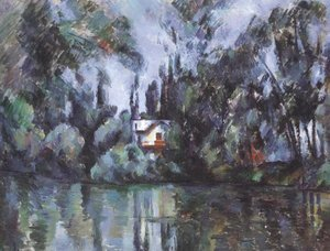 Paul Cezanne - House On The Marne 1888 90