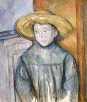 Paul Cezanne - Boy with a Straw Hat