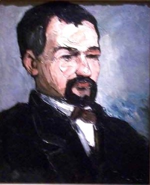 Paul Cezanne - Portrait of Uncle Dominque