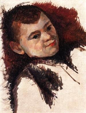 Portrait of Paul Cezanne the Artist's Son 1885