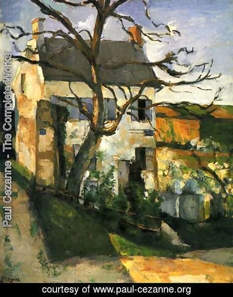 Paul Cezanne - The House and the Tree 1873 187