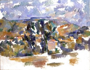Paul Cezanne - The Mont de Cengle