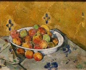 Paul Cezanne - The Plate of Apples