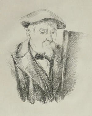 Paul Cezanne - Autoportrait