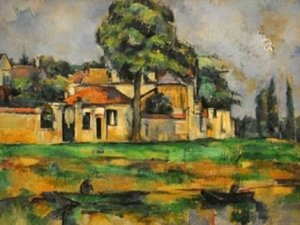Paul Cezanne - Bords de la Marne