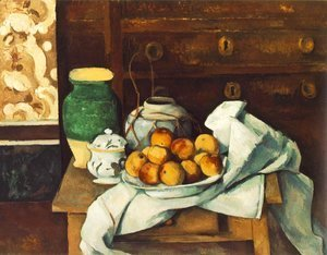 Paul Cezanne - Still Life with Commode
