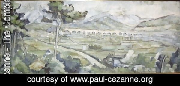 Paul Cezanne - Mount Saint Victoire