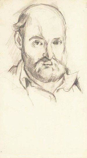 Paul Cezanne - Autoportrait 2