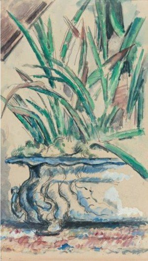 Paul Cezanne - Le Cache-Pot Bleu