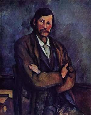 Paul Cezanne - Man with arms folded