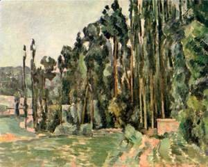 Paul Cezanne - The Poplars