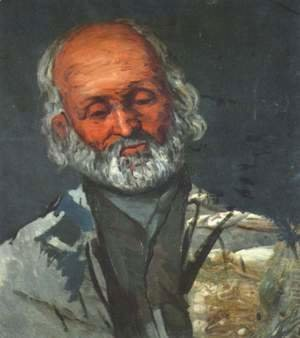 Paul Cezanne - Portrait of an old man