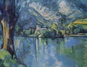 Paul Cezanne - Annecy Lake
