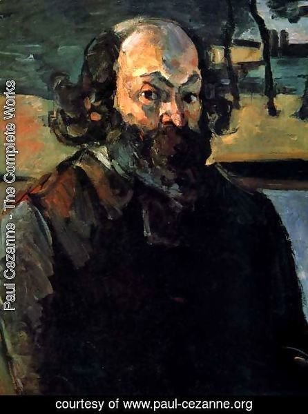 Paul Cezanne - Self Portrait 3