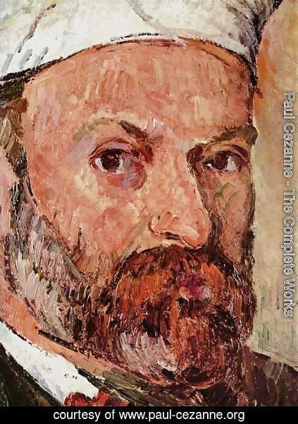 Paul Cezanne - Self Portrait 6