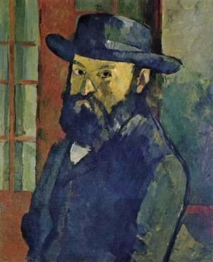 Paul Cezanne - Self Portrait 7