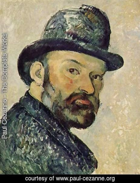Paul Cezanne - Self Portrait 8
