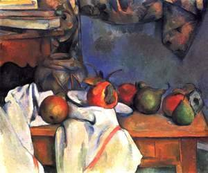 Paul Cezanne - Still life, ginger jar
